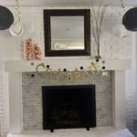 New Year's Eve Party Fireplace Decor