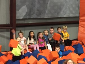 The SkyZone Foam Pit | My Crazy Beautiful Life