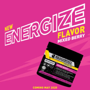 New Mixed Berry Energize Flavor